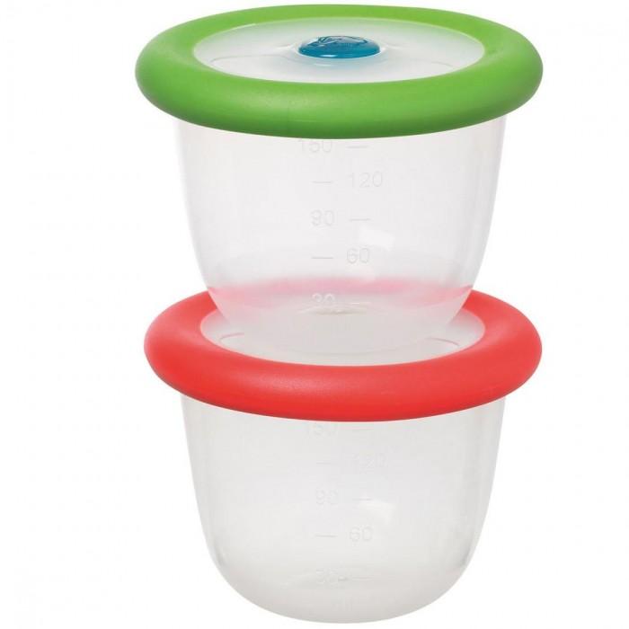 Купить Контейнеры для еды, Bebe Confort Набор из 2-х контейнеров по 150 мл с крышками
