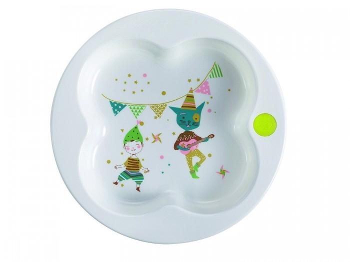 Посуда Bebe Confort Тарелка в форме клевера посуда bebe confort прозрачный стаканчик