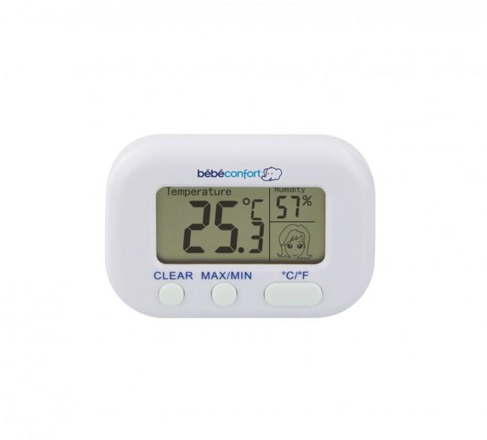 Термометры Bebe Confort Термометр и гигрометр 2 в 1 bebe confort пустышки латексные classic dummies 6 12 мес 2 шт
