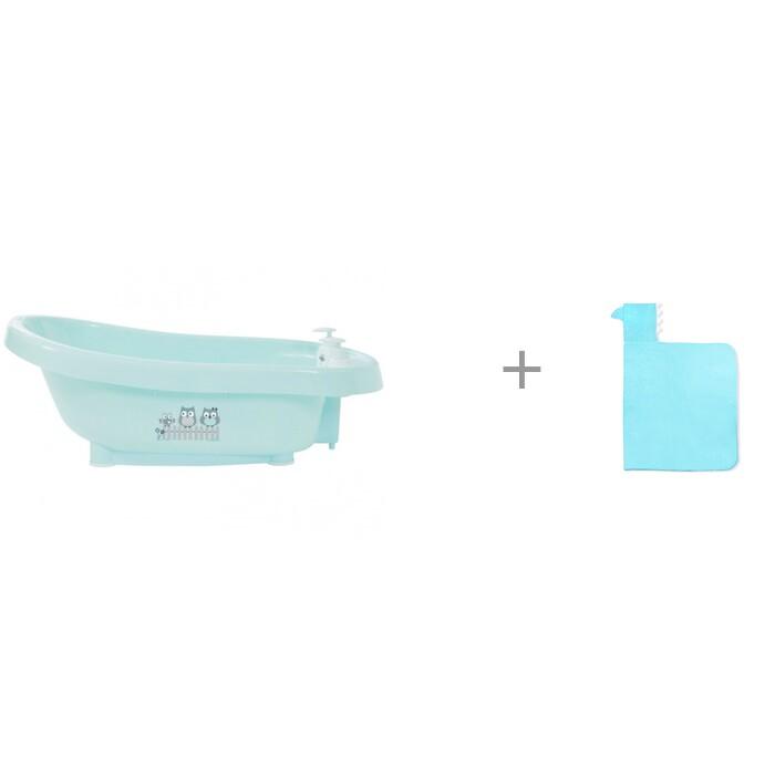 Картинка для Bebe Jou Ванночка для купания 6260 и Полотенце с капюшоном Лео Акула