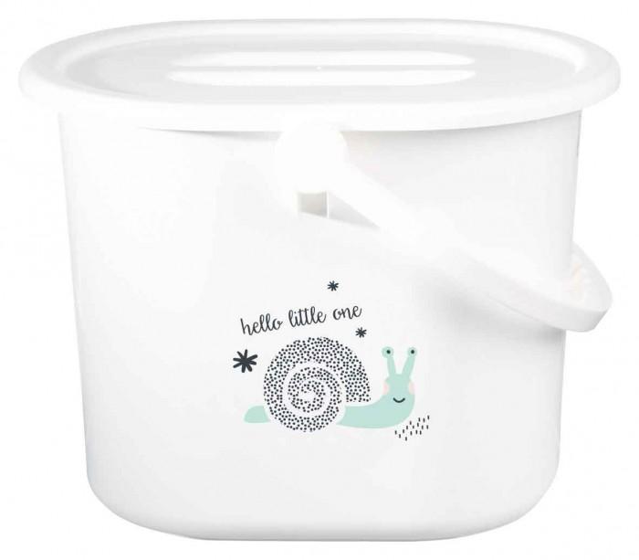 Аксессуары для ванн Bebe Jou Ведро для наполнения, слива ванночки и использованных подгузников фреш клаб пакеты для использованных подгузников 100шт