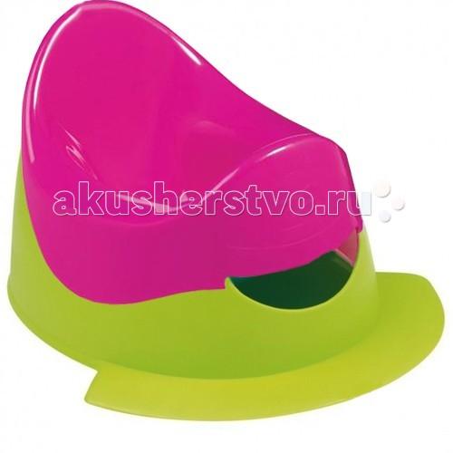Горшок Bebe Confort двуцветный с подножкой