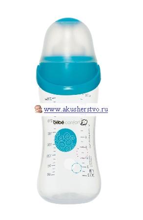 Бутылочки Bebe Confort Easy Clip 270 мл бутылочка для кормления bebe confort easy clip 270 мл силиконовая соска s1 0 12 мес белый