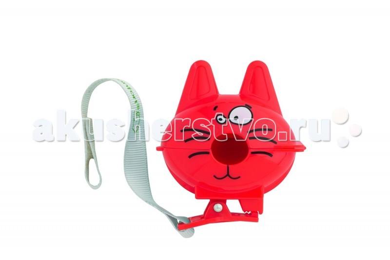 Аксессуары для пустышек Bebe Confort Футляр защитный с клипсой и лентой для пустышки bebe confort шлем мягкий защитный
