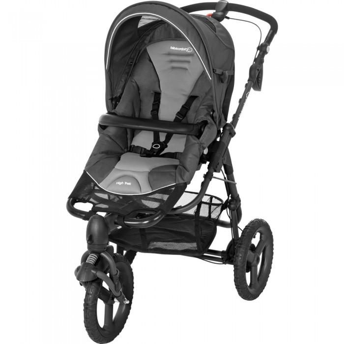 Прогулочная коляска Bebe Confort High TrekHigh TrekЛёгкий и маневренный Bebe Confort High Trek предлагает реальный комфорт управления и обеспечивает благополучие малышу. В своём мягком гамаке он может смотреть на дорогу или на Вашу улыбку.  Благодаря универсальной системе ModuloClip, на это шасси можно установить люльку для новорожденного WINDOO или автокресла CREATIS или ELIOS SS. (приобретаются отдельно)  Особенности модели: -Сидение типа «гамак» предоставляет удобную боковую поддержку и регулирует нагрузку на позвоночник малыша; -Мягкая и плотная обивка с боковыми уплотнениями обеспечивает ребёнку максимальный комфорт и безопасность; -Прогулочный блок можно устанавливать в 2-ух направлениях (система Modulo Clip): лицом к маме или к дороге; -Спинка сидения регулируется по углу наклона в нескольких положениях; -Наклон спинки и подножки регулируются одновременно и плавно одной рукой, используя ручку в спинке гамака; -5-ти точечные ремни безопасности: натягиваются автоматически одним движением и регулируются по мере роста ребёнка; -Съемный бампер, регулируется по высоте; -Регулируемая ручка по высоте; -Ручной тормоз на ручке коляски; -Вместительная корзина для покупок; -Амортизация всех колес; -Большие колеса с широким протектором; Переднее колесо поворотное с возможностью фиксации; -Шасси оснащено системой Modulo Drive, переключатель которой позволяет не наклоняясь выбирать положение передних колес: фиксированное или плавающие; -Есть дополнительная централизованная ножная тормозная система; -Обивку можно снять и стирать при 30 градусах; -Благодаря системе Modulo Clip, на шасси коляски можно установить люльки: Windoo Plus и Compact или автокресла 0+: Pebble baby и Creatis.fix.  Габариты (длина х ширина х высота), см: В разложенном состоянии Д120-165 х В94-106 х Ш65 см (рекомендуем померить лифт) В сложенном состоянии Д103-165 х В49 см Вес, кг: 11,6 кг (с гамаком High Trek).<br>