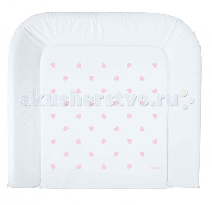 Накладки для пеленания Bebe Jou Накладка для пеленания Lux 75х80 подставки для ванны bebe jou подставка металлическая под ванночку