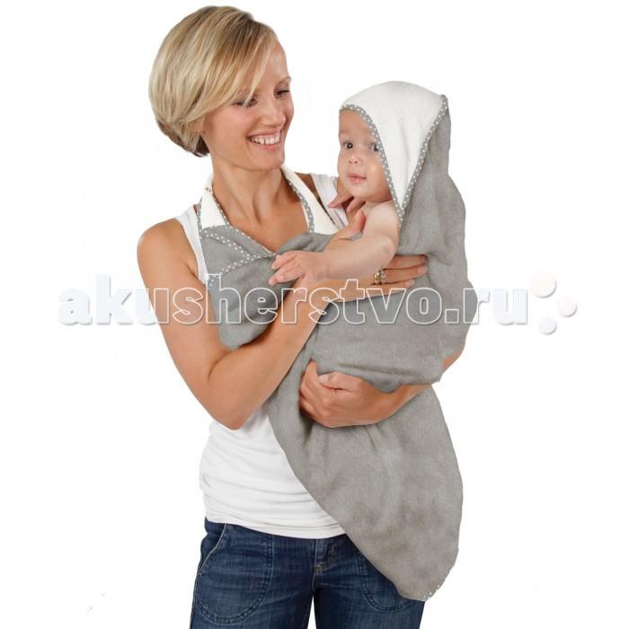 Купание малыша , Полотенца CuddleDry Простынка банная Lux для младенцев двойная 70х140 см арт: 236812 -  Полотенца