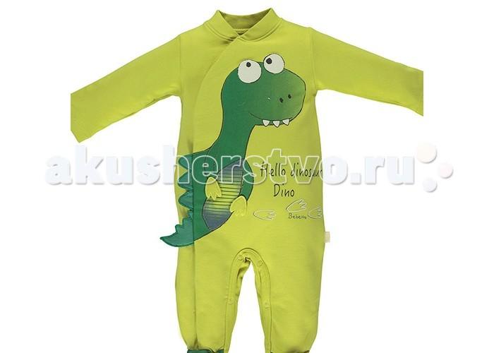 Детская одежда , Комбинезоны и полукомбинезоны Bebetto Комбинезон для мальчика Dinosaur арт: 396554 -  Комбинезоны и полукомбинезоны