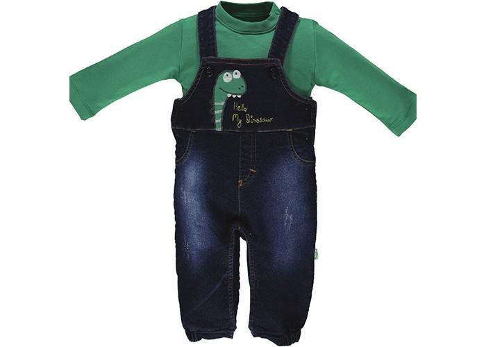 Комплекты детской одежды Bebetto Комплект для мальчика (водолазка и комбинезон) Dinosaur K 1602