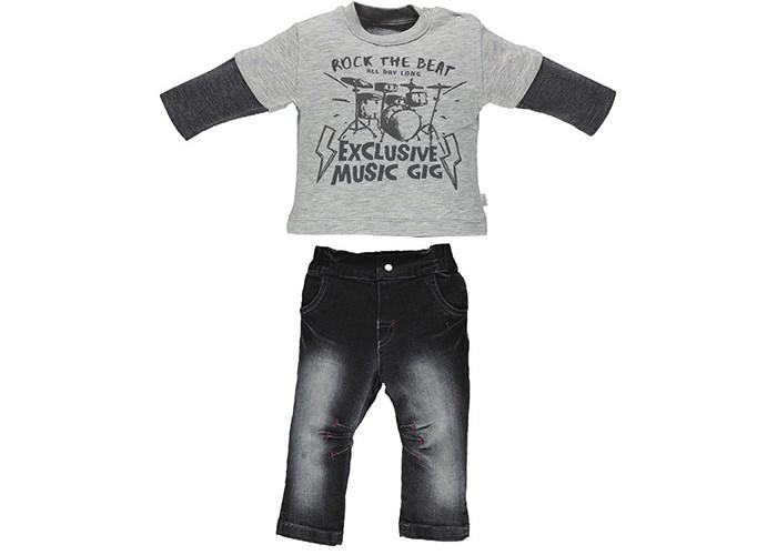 Комплекты детской одежды Bebetto Комплект (кофта и джинсы) Construction для мальчика кофта blugirl кофта