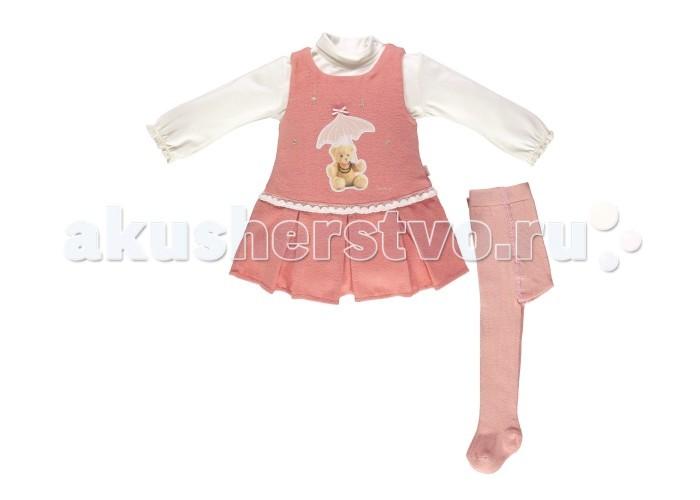 Комплекты детской одежды Bebetto Комплект (платье длинный рукав и колготы) Boutique Girl для девочки цена 2017