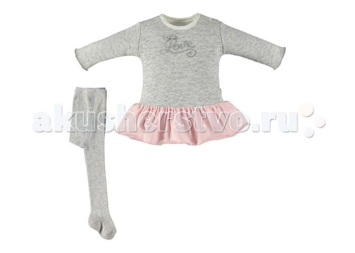 Комплекты детской одежды Bebetto Комплект (платье и колготы) Ballerina для девочки