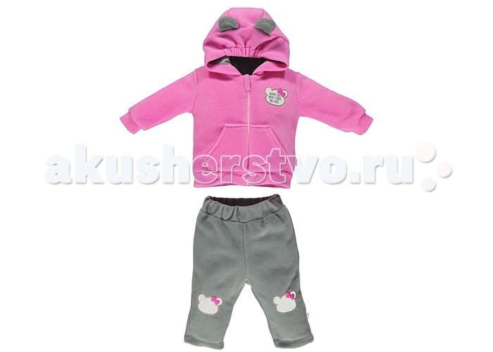 Комплекты детской одежды Bebetto Комплект (толстовка и штанишки) Polar Girl для девочки