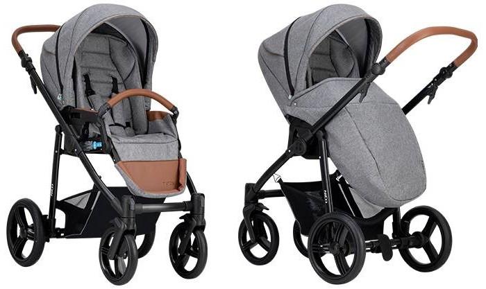 Купить Прогулочные коляски, Прогулочная коляска Bebetto Nico (черная рама)