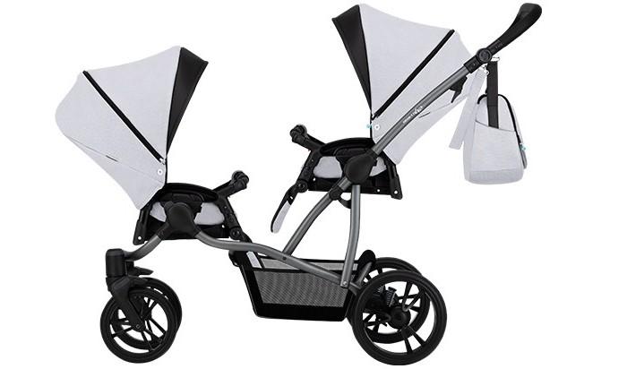 Фото - Коляски для двойни и погодок Bebetto Прогулочная коляска 42 Sport Сomfort для двойни Графитовая рама коляски 2 в 1 bebetto magnum lux 2 в 1
