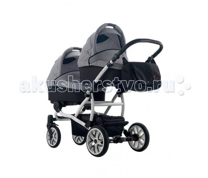 Детские коляски , Коляски для двойни и погодок Bebetto (ARO) 42 Коляска для двойни 2 в 1 арт: 74460 -  Коляски для двойни и погодок