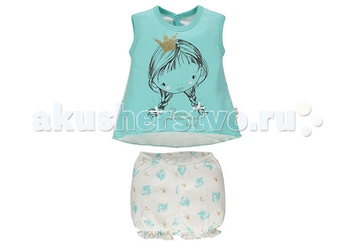 Комплекты детской одежды Bebetto Комплект (шорты и майка) для девочки K 1375