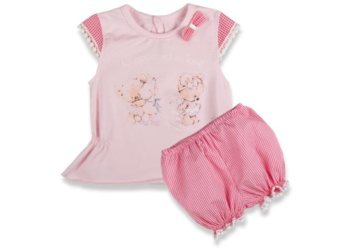 Комплекты детской одежды Bebetto Rus Комплект (туника и трусики под памперс) для девочки K 1403
