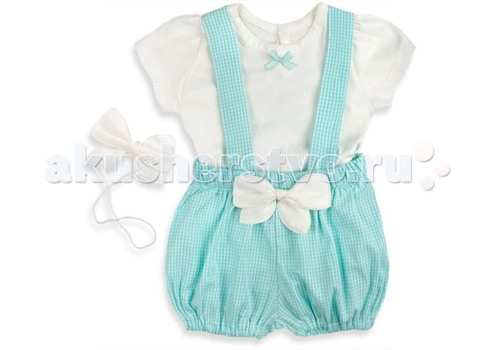 все цены на Комплекты детской одежды Bebetto Комплект одежды для девочки (3 предмета) K 1407