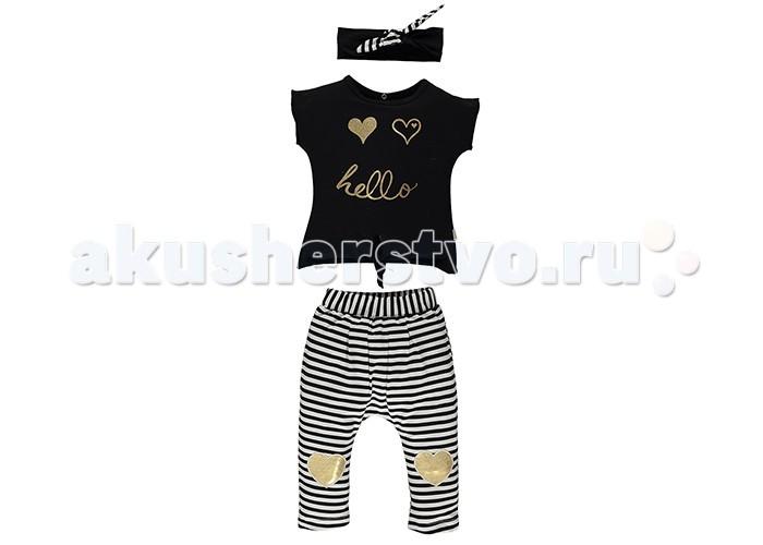 Комплекты детской одежды Bebetto Rus Комплект одежды для девочки (3 предмета) K 1408