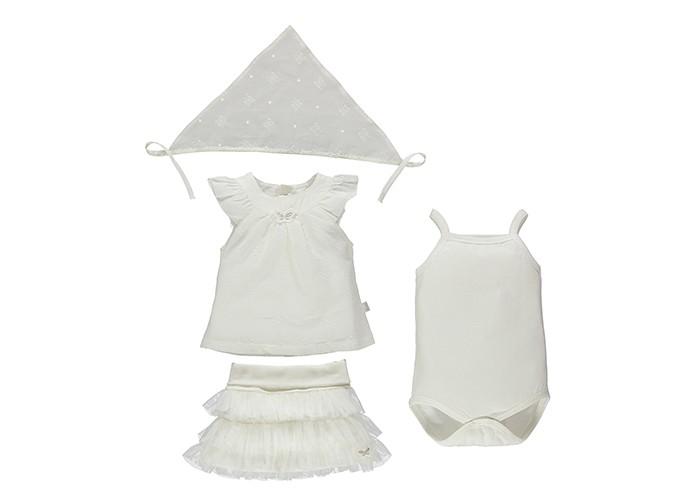 Детская одежда , Комплекты детской одежды Bebetto Комплект одежды для девочки (4 предмета) K 1420 арт: 329585 -  Комплекты детской одежды