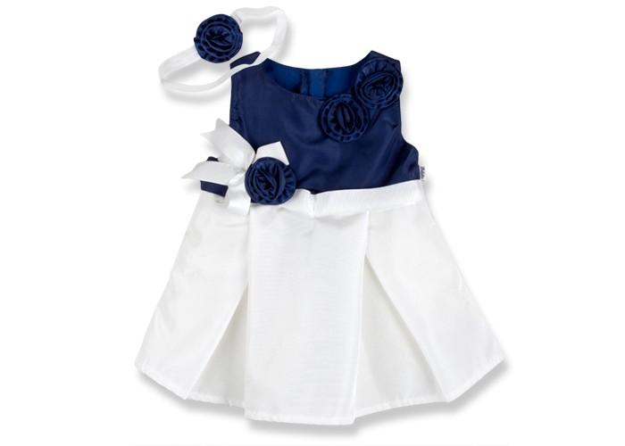 Bebetto Rus Комплект (платье и повязка на голову) для девочки K 1436