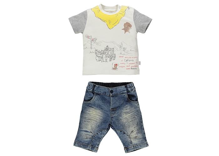 Комплекты детской одежды Bebetto Комплект (футболка и шорты) для мальчика K 1342, Комплекты детской одежды - артикул:330390