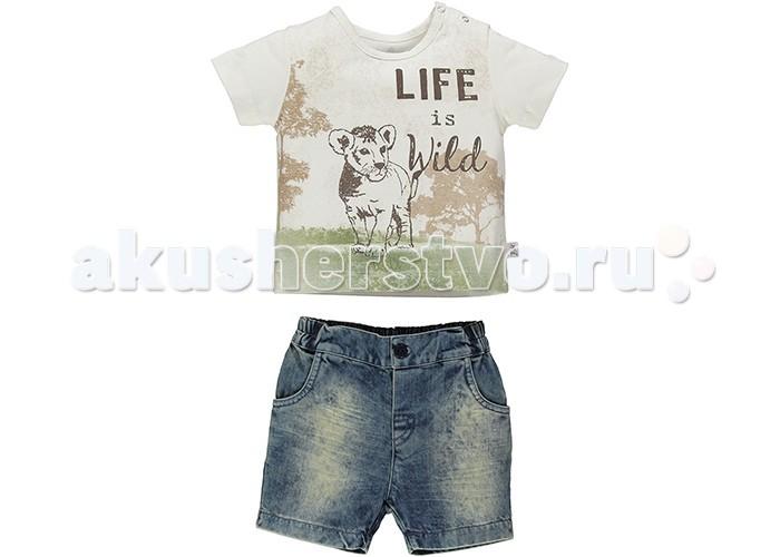 Комплекты детской одежды Bebetto Комплект (футболка и шорты) для мальчика K 1366