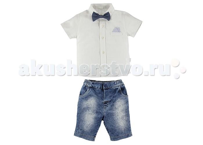 все цены на Комплекты детской одежды Bebetto Комплект (футболка-поло и шорты) для мальчика K 1371