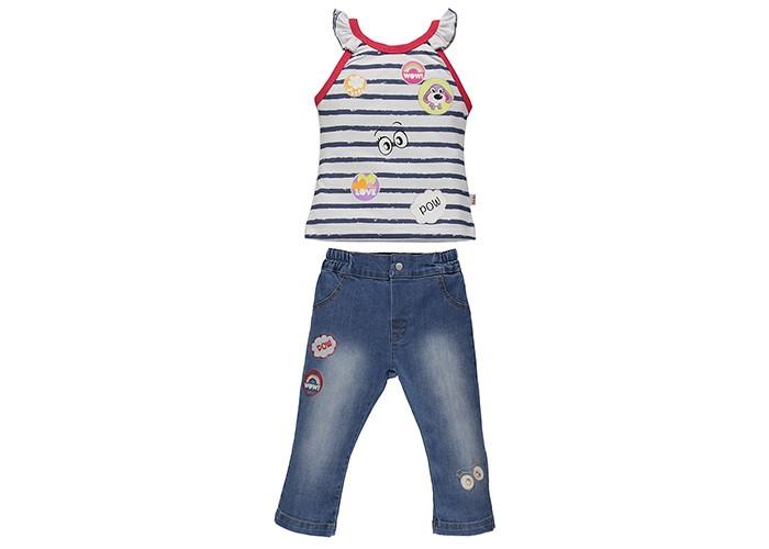 Комплекты детской одежды Bebetto Комплект (джинсы и футболка) Морячка для девочки