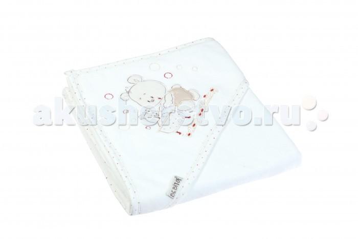 Купание малыша , Полотенца Bebitof Baby Детское банное полотенце с уголком BBTF-3098 арт: 355750 -  Полотенца