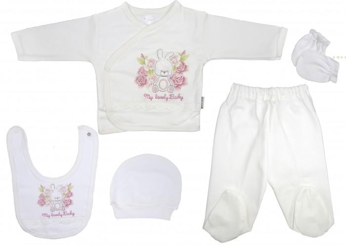 Комплекты детской одежды Bebitof Baby Подарочный набор (5 предметов) BBTF-818 комплекты детской одежды клякса комплект 5 предметов 53 5228