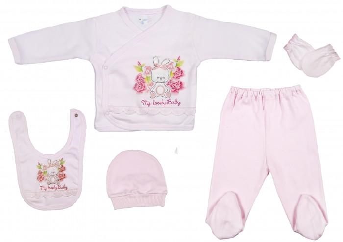 цена на Комплекты детской одежды Bebitof Baby Подарочный набор (5 предметов) BBTF-818