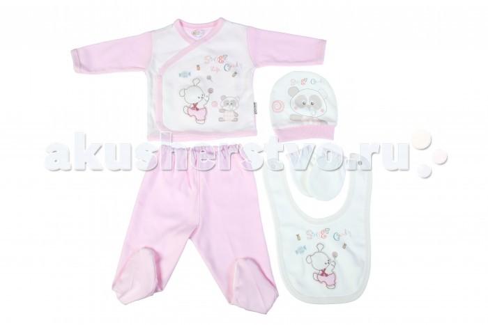 Комплекты детской одежды Bebitof Baby Подарочный набор (5 предметов) BBTF-824 комплекты детской одежды клякса комплект 5 предметов 53 5228