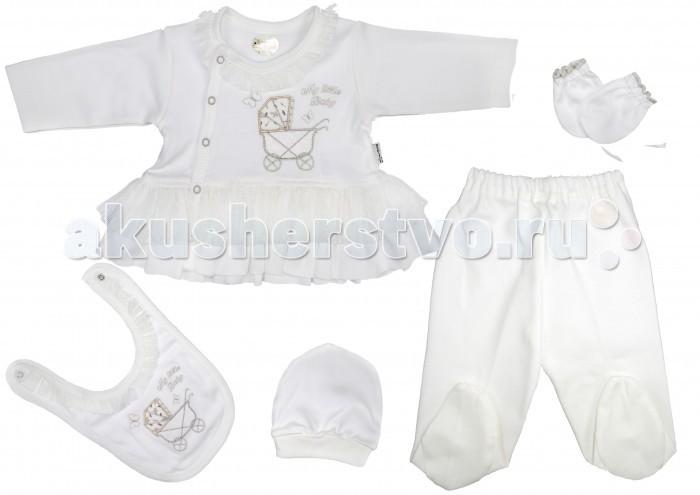 Комплекты детской одежды Bebitof Baby Подарочный набор (5 предметов) BBTF-830 комплекты детской одежды клякса комплект 5 предметов 53 5228