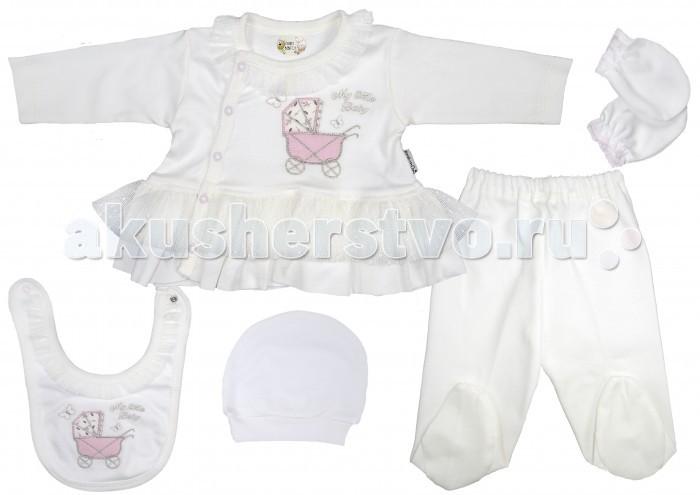 Комплекты детской одежды Bebitof Baby Подарочный набор (5 предметов) BBTF-830