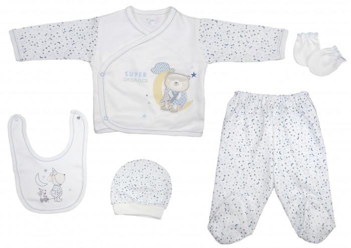 Детская одежда , Комплекты детской одежды Bebitof Baby Подарочный набор 5 предметов BBTF-836 арт: 355535 -  Комплекты детской одежды