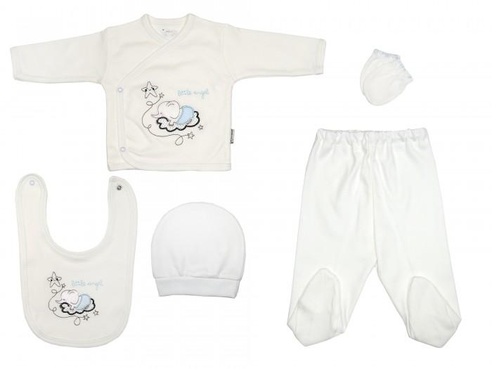 Комплекты детской одежды Bebitof Baby Подарочный набор для новорожденного (5 предметов) BBTF-854 комплекты детской одежды клякса комплект 5 предметов 53 5228