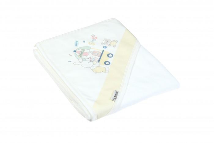 Полотенца Bebitof Baby Детское банное полотенце с уголком 90x80