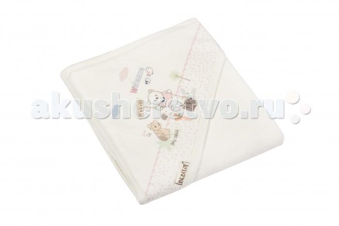 Полотенца Bebitof Baby Детское банное полотенце с уголком BBTF-3182