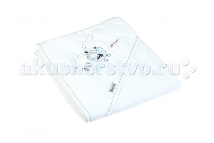 Полотенца Bebitof Baby Детское банное полотенце с уголком BBTF-3214 90х80