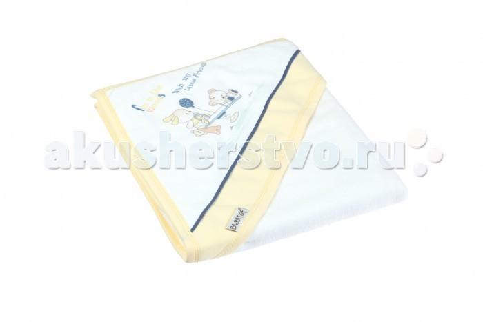 Полотенца Bebitof Baby Детское банное полотенце с уголком BBTF-3216 90х80