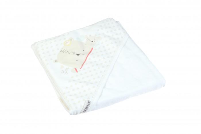 Купание малыша , Полотенца Bebitof Baby Детское банное полотенце с уголком BBTF-3218 90х80 арт: 298078 -  Полотенца