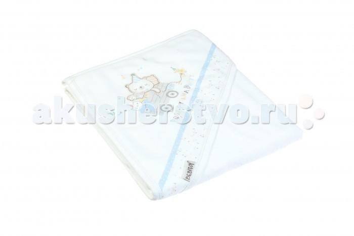 Купание малыша , Полотенца Bebitof Baby Детское банное полотенце с уголком BBTF-3220 90х80 арт: 298081 -  Полотенца