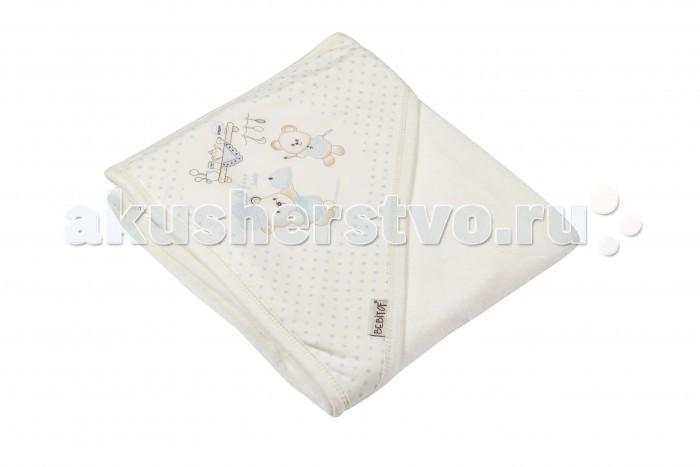 Полотенца Bebitof Baby Детское банное полотенце с уголком BBTF-3178