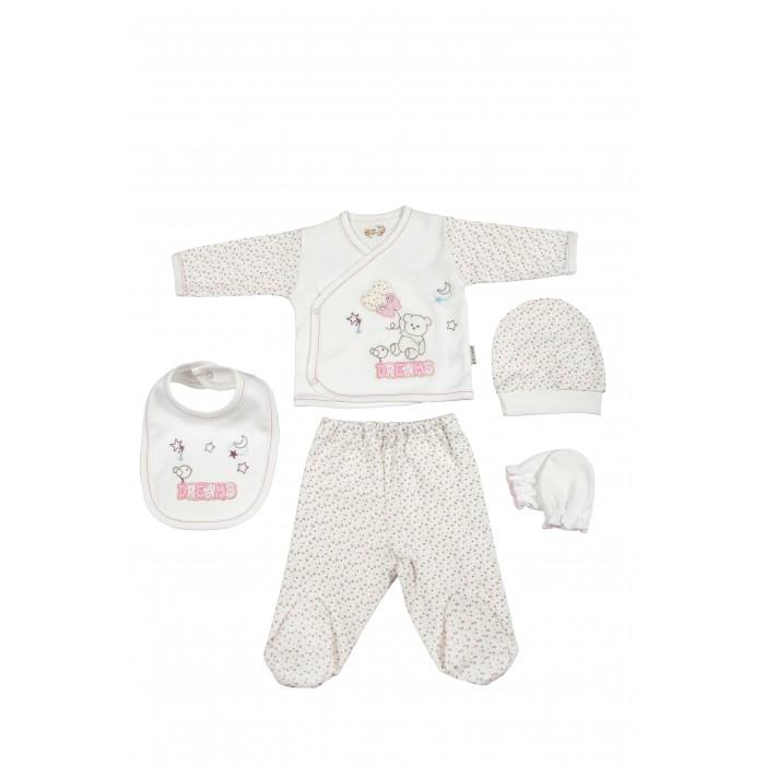 Комплекты детской одежды Bebitof Baby Подарочный набор для новорожденного (5 предметов) BBTF-702 наборы для кормления mii набор для новорожденного 7 предметов