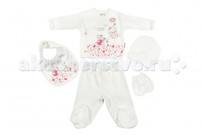 Комплекты детской одежды Bebitof Baby Подарочный набор для новорожденного (5 предметов) BBTF-734