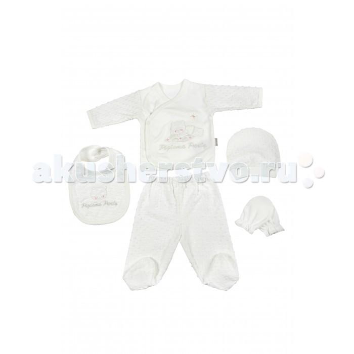 Комплекты детской одежды Bebitof Baby Подарочный набор для новорожденного (5 предметов) BBTF-756 наборы для кормления mii набор для новорожденного 7 предметов