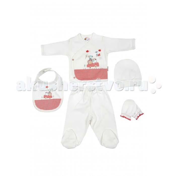 Комплекты детской одежды Bebitof Baby Подарочный набор для новорожденного (5 предметов) BBTF-776 наборы для кормления mii набор для новорожденного 7 предметов
