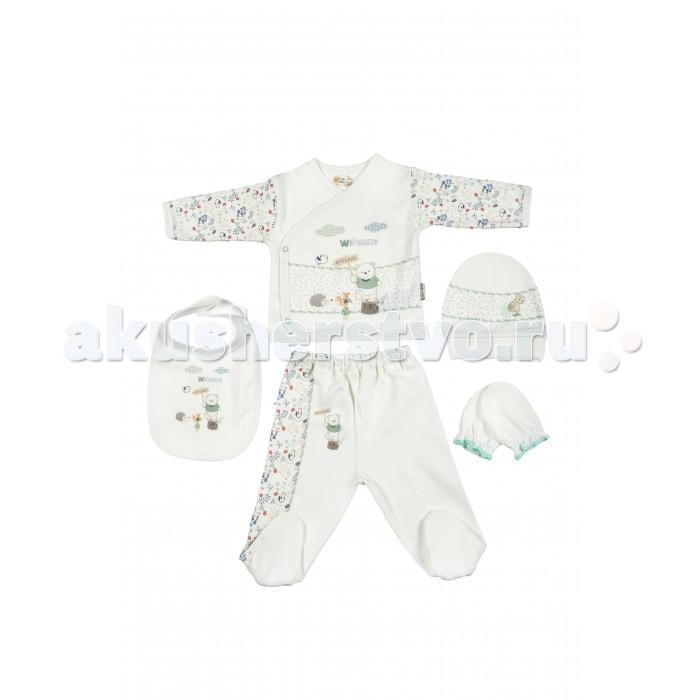 Комплекты детской одежды Bebitof Baby Подарочный набор для новорожденного (5 предметов) BBTF-786